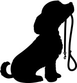 16586924-a-black-silhouette-of-a-sitting-dog-holding-it-s-leash-in-it-s-mouth-patiently-waiting-to-go-for-a-w